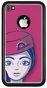 Oceanic Airlines Stewardess iPhone 4 case for the real lost fan