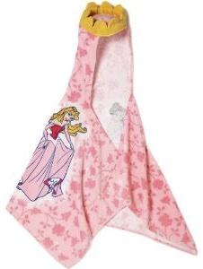 Disney Princess Hooded towel with build in crown.