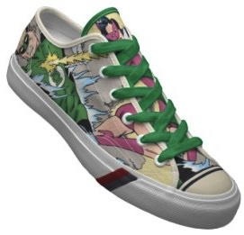 Pro Keds Green Lantern Shoes with a design you don't find in stores.