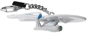 Starship U.S.S. Enterprise from the Star Trek Movie now as cool Key chain.