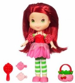 Strawberry Shortcake Doll brush her hair and play.