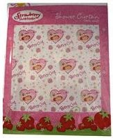 Strawberry Shortcake Shower Curtain will make your shower look great.