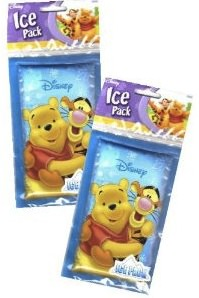 Ice Packs that can keep your lunch cool with winnie the pooh and his friend tigger on it