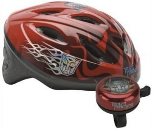 Transformers Optimus Prime Bike Helmet and bicycle Bell