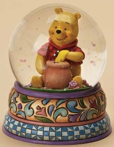 Check out this Honey of a Bear Snow globe by Jim Shore great for the real winnie the pooh fan