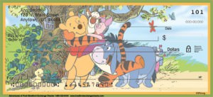 Adventures of Pooh Personal Check Designs