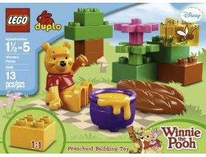Winnie the Pooh Picnic LEGO DUPLO SET 5945 for hours of kids fun building.