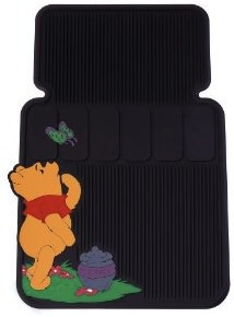 Protect your cars interior with these Winnie the Pooh Floor Mats.