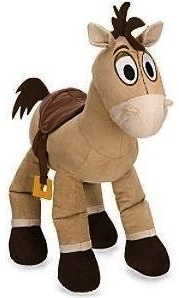 "Bullseye an 11"" plush version of Woody's horse."