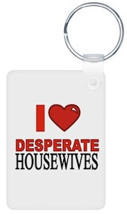 I heart desperate housewives great quality key chain.