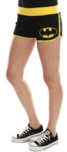 Batman sexy shorts for girls