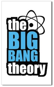 The Big Bang Theory Logo Sticker