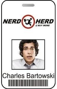 Charles Bartowski Nerd Herd ID Card