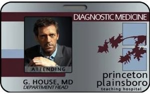 Gregory House MD ID Card