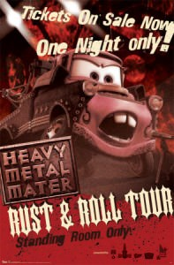 Cars Heavy Metal Mater poster