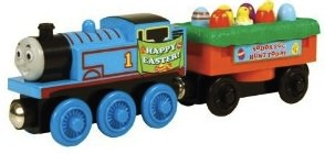 Thomas the tank engine easter train for the wooden railway