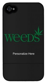 Weeds Personalized iPhone 4 Case