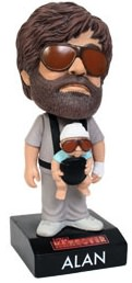 Alan and Baby Carlos together on this talking bobblehead