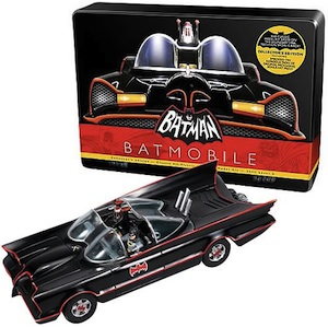 Build you own Batmobile with this classic model kit