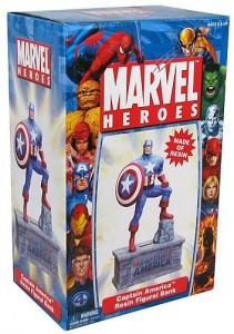 Captain America Figural Bank