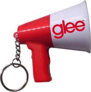 Glee Sue Sylvester talking megaphone keychain