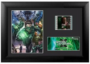 Green Lantern Mini Cell and Poster