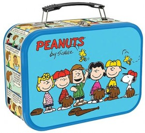 Peanuts Baseball Lunch Box