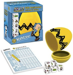 Peanuts collectors edition yahtzee game