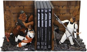 Star Wars Garbage Compactor Bookends