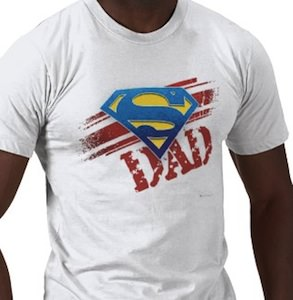 Superman Father's day t-shirt for super dad