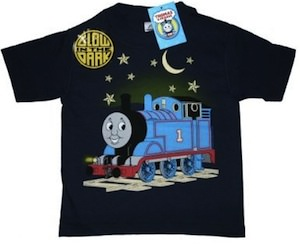 Thomas The Train Glow in the Dark T-Shirt for kids