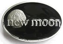 Twilight fans will love this new moon belt buckle
