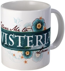 Follow me to wisteria Lane mug for the Desperate housewives fan