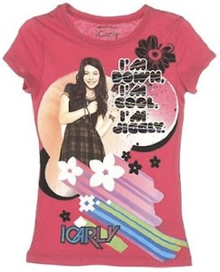 iCarly hip and cool t-shirt