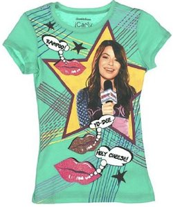 iCarly glitter lips t-shirt