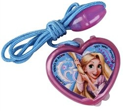 Tangled Princess Rapunzel necklace and lip gloss