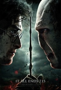 Harry Potter and the Deathly Hallows part 2 movie poster