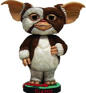 Gremlins Bobblehead made by neca and showing Gizmo