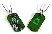 Green Lantern Hal Jordan Dog Tag Necklace