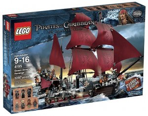Blackbear's pirate ship the Queen Annes all in Lego