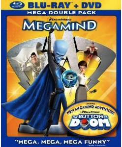 Animation Movie Megamind will make you laugh and enjoy this dvd and blue-ray
