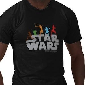 Star Wars the Clone Wars Jedi Fighters t-shirt