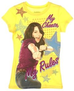 iCarly My Cheese my Rules t-shirt