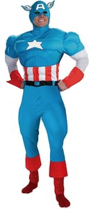 Captain America Men's costume great for Halloween