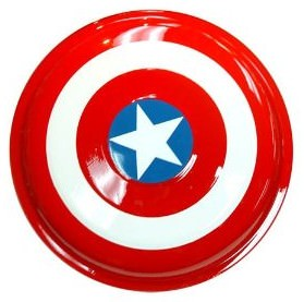 Captain America Metal Replica Movie Comic Shield