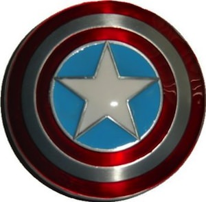 Belt Buckle of the shield from Captain America