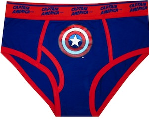 Captain America Indestructible Shield Briefs for men