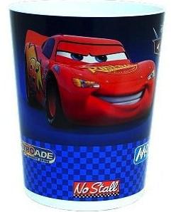 Cars 2 garbage bin with Lightning McQueen