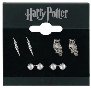 3 sets of Harry Potter Earrings