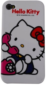 Hello Kitty on the phone iPhone case